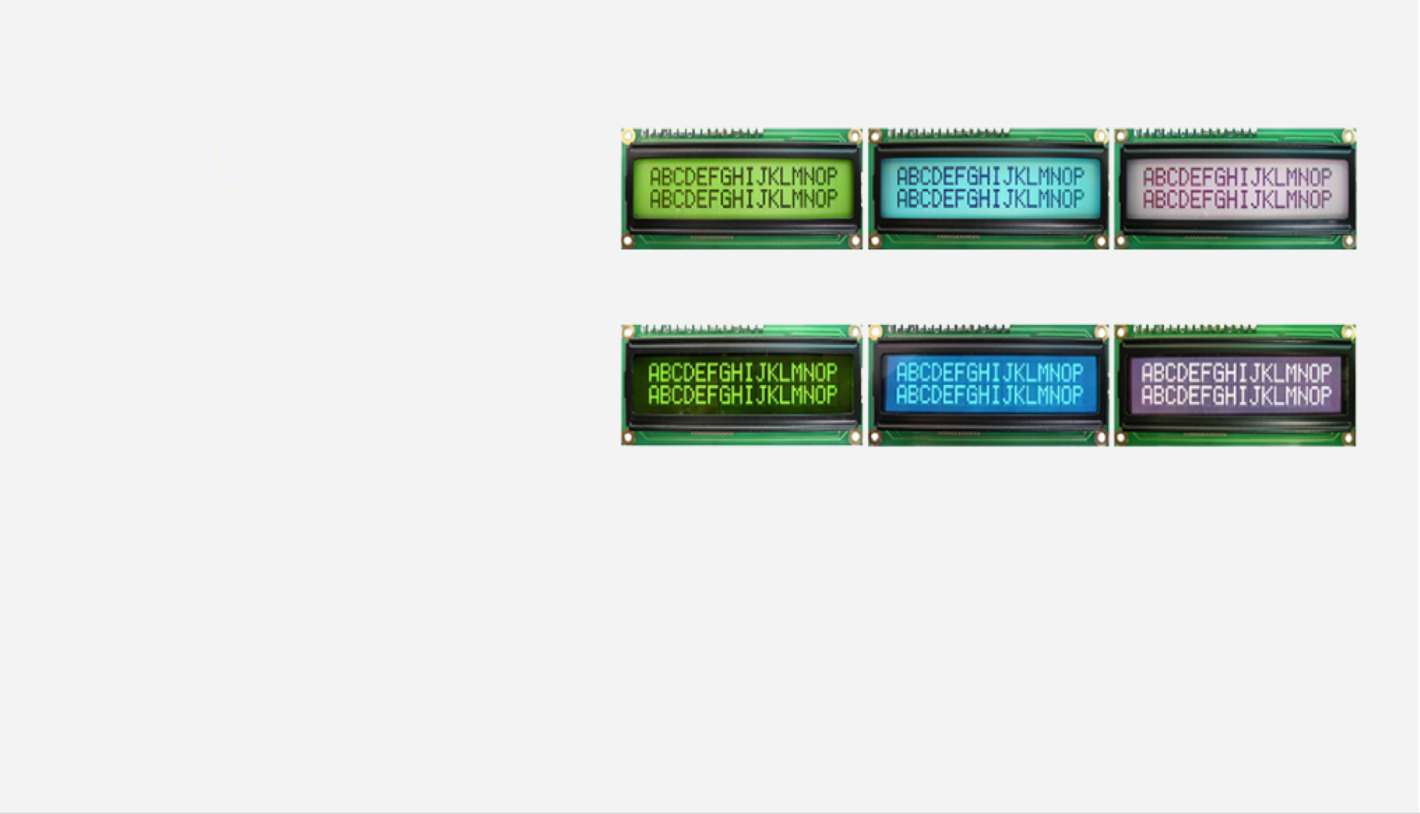LCD Products